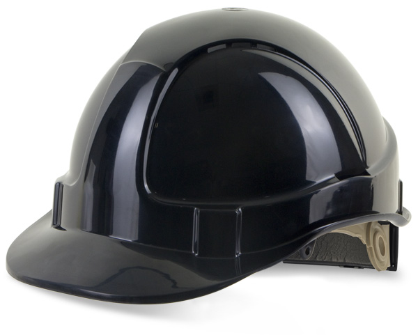 WHEEL RATCHET VENTED SAFETY HELMET  - BBVSHRH