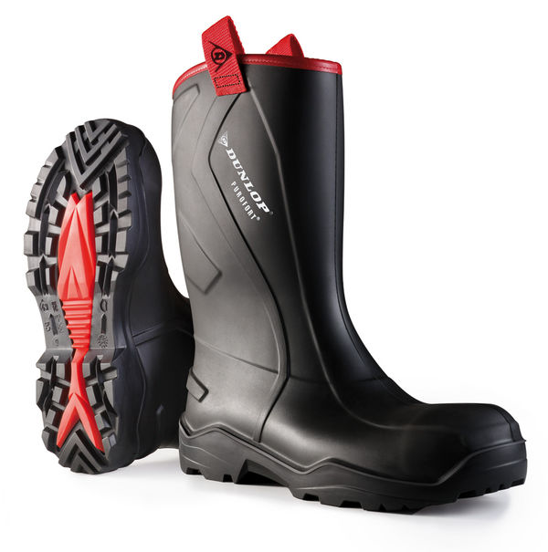 PUROFORT+RUGGED FULL SAFETY  RIGGER BOOT - C762043