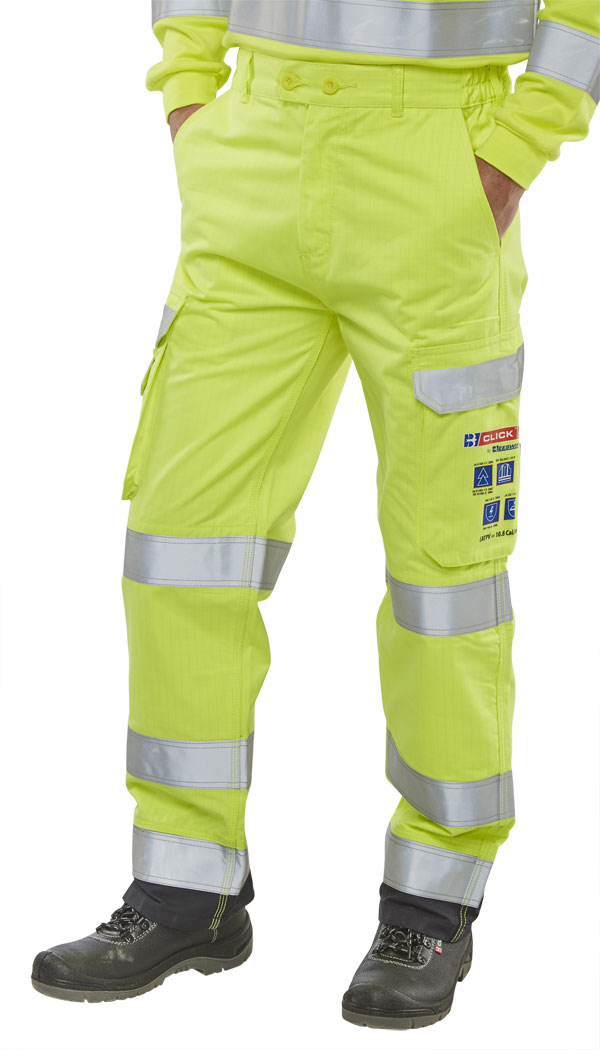 ARC FLASH HI VIZ TROUSERS - CARC5