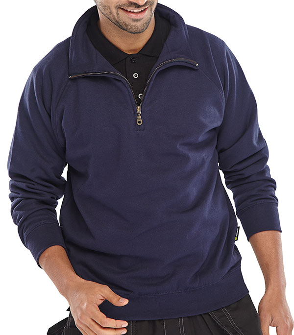 QUARTER ZIP SWEATSHIRT - CLQZSSN