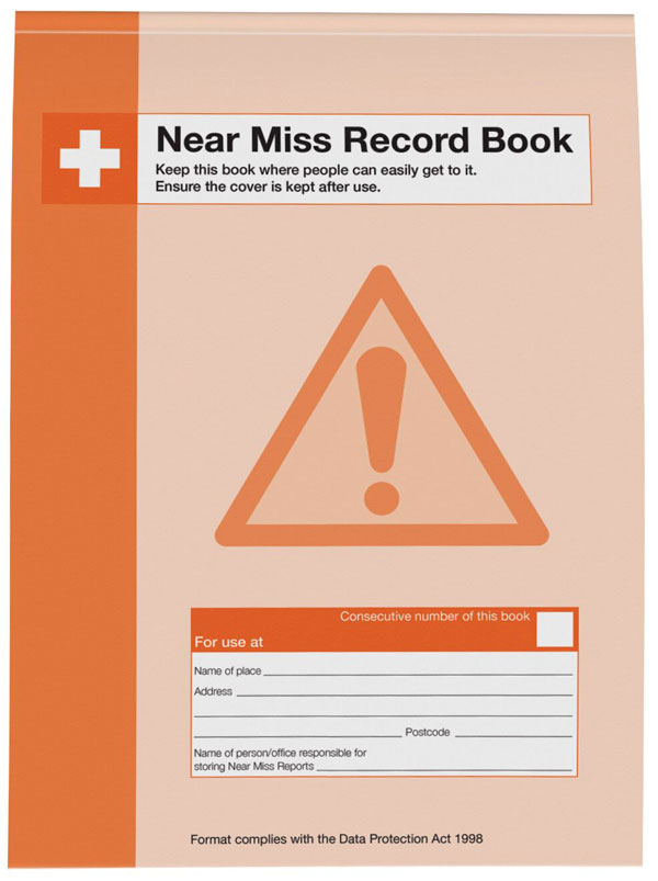 NEAR MISS RECORD BOOK  - CM1338