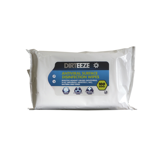 ANTIVIRAL SURFACE WIPES FLOWPACK - DAVF100