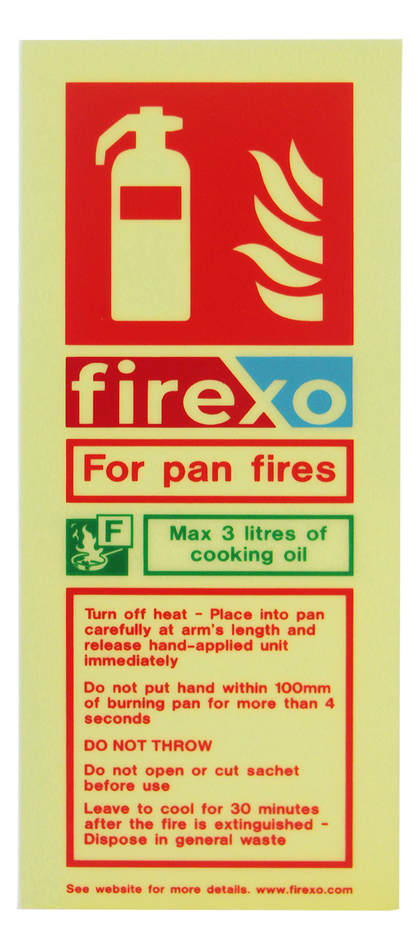 FIREXO SACHET SIGN  - FX-SASIGN