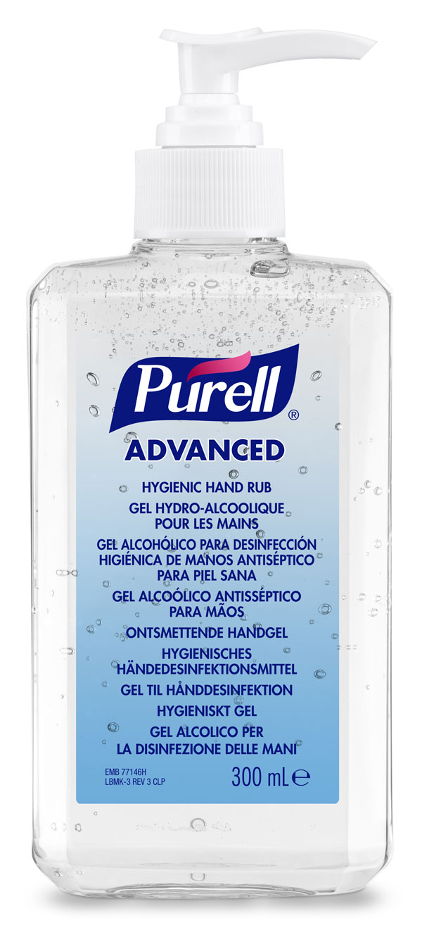 PURELL ADVANCED HAND RUB 12 X 300ML - GJ9263-12