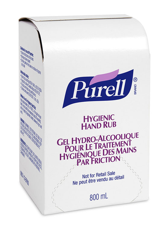 PURELL 12X800 BAG IN BOX - GJ9657-12