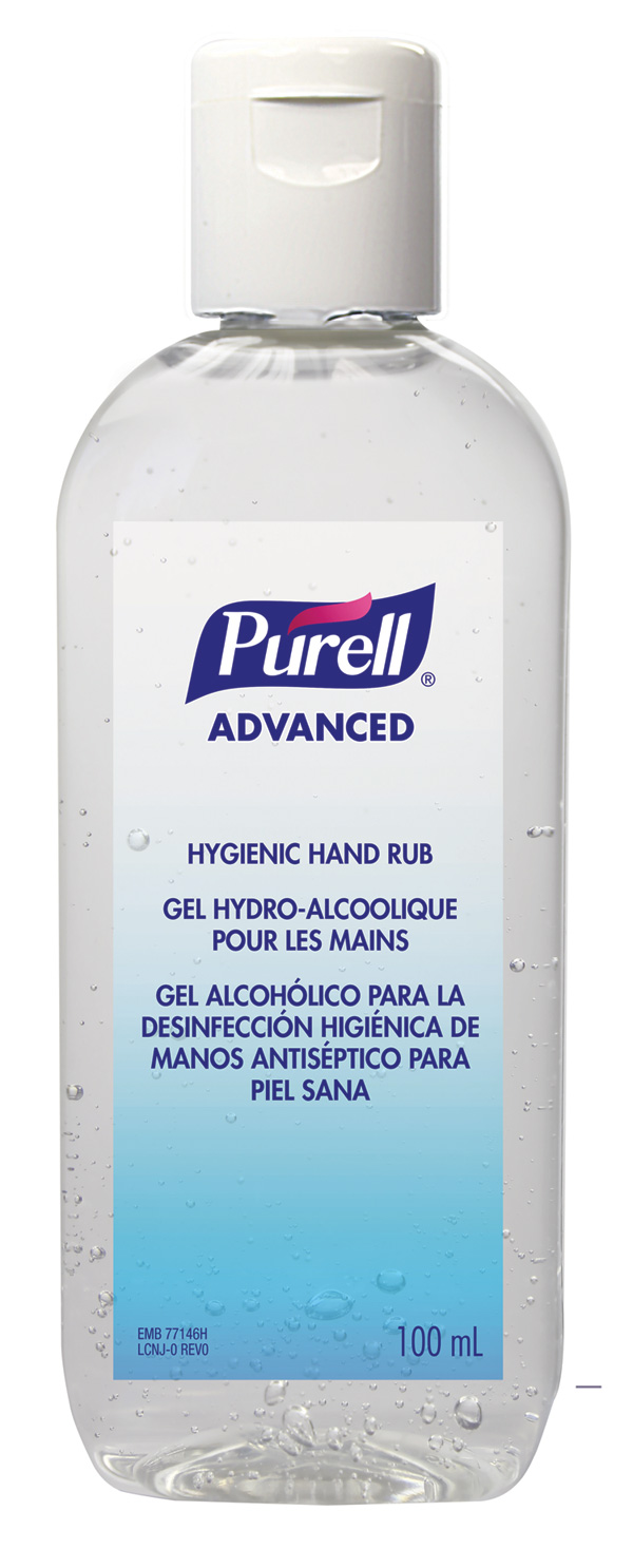ADVANCED HYGIENIC HAND RUB OVAL 24 X 100ML - GJ9661