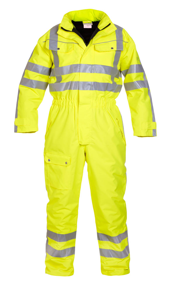 UELSEN SNS HIGH VISIBILITY WATERPROOF WINTER COVERALL - HYD072240
