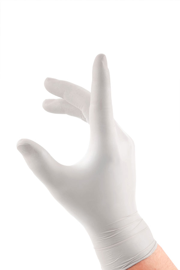 LATEX EXAMINATION GLOVES - LEG