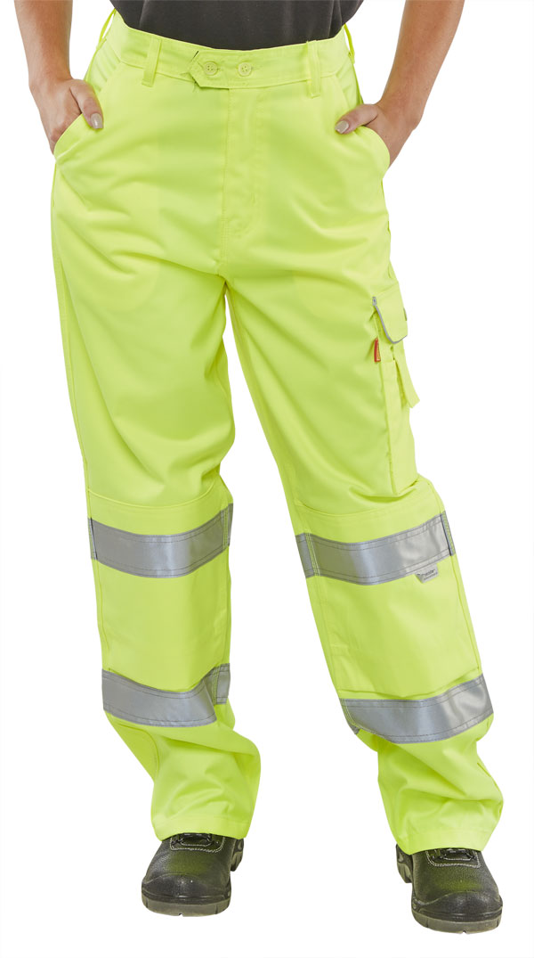 LADIES EN ISO 20471 TROUSER - LPCTENSY