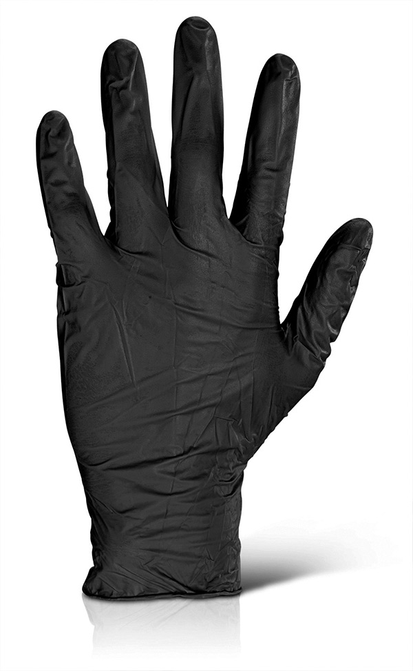NITRILE DISPOSABLE GLOVE - NDGPF50
