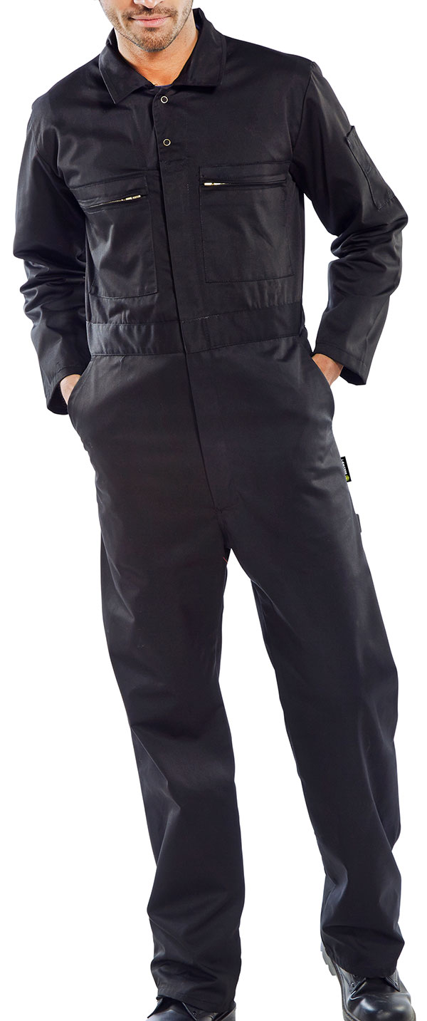 SUPER CLICK HEAVY WEIGHT BOILERSUIT - PCBSHWBL